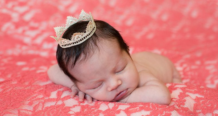 Little Princess, Rochester Newborn Photographer