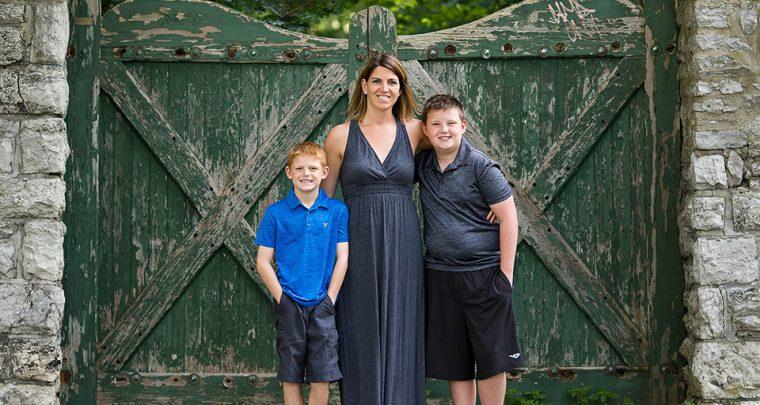 Autumn Smiles, Rochester Family Photographer