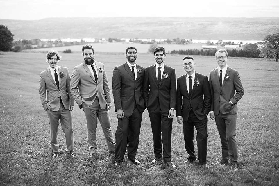 Groomsmen, Logan Ridge Estates Wedding, Finger Lakes Photographer