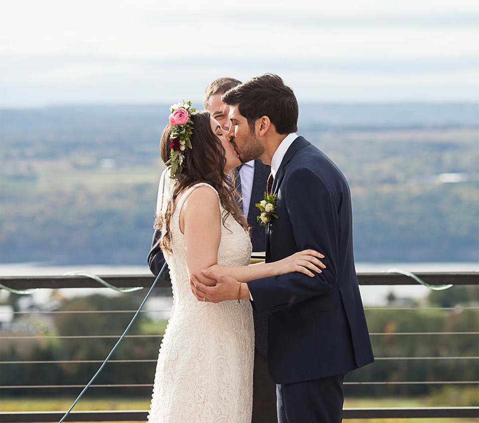 Seneca Lake Ceremony, Finger Lakes Wedding Photographer