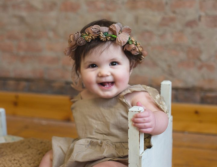 Miss Morgan, 7 months old | Cincinnati Baby Photographer