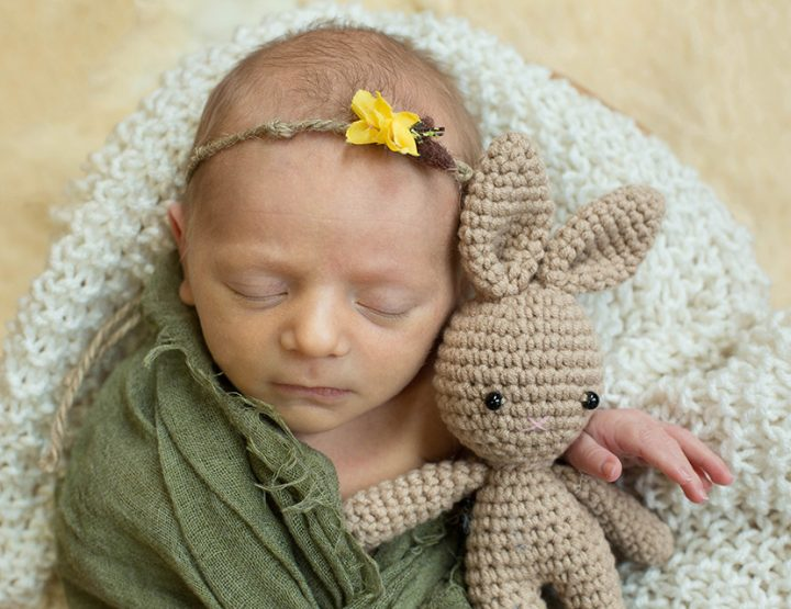 Little Bunny, Cincinnati Newborn Photographer