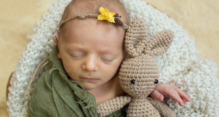 Little Bunny, Cincinnati Newborn Photographer