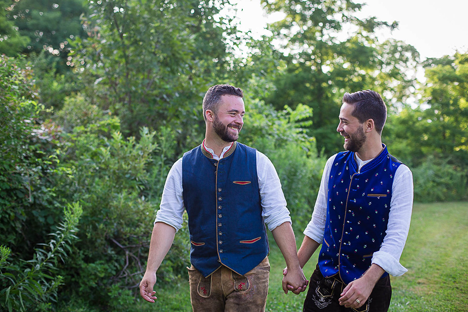 Same sex wedding ceremony, Cincinnati Wedding photographer