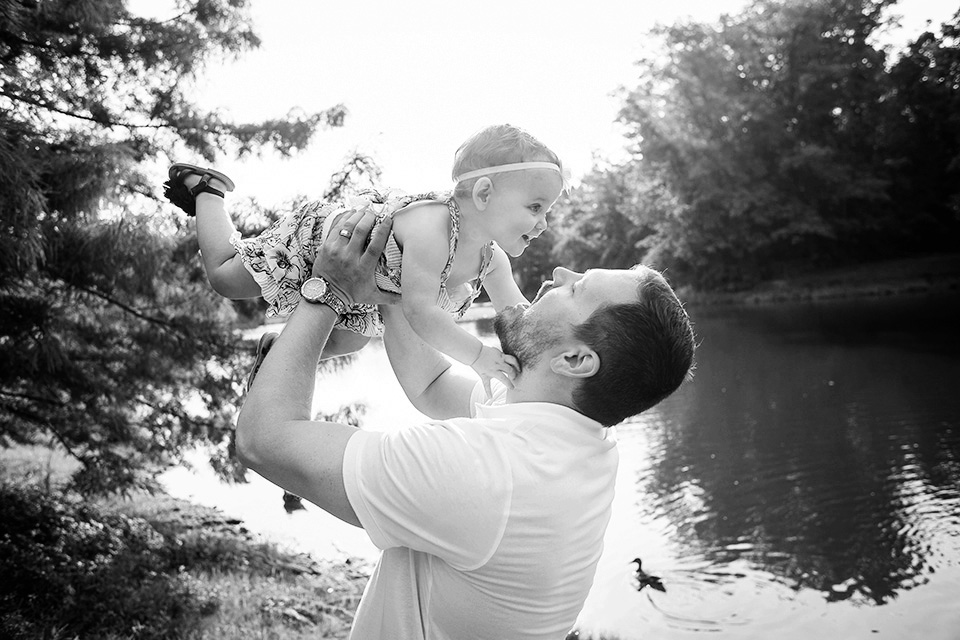 Daddy and Baby Pictures, Mason OH Family Photographer