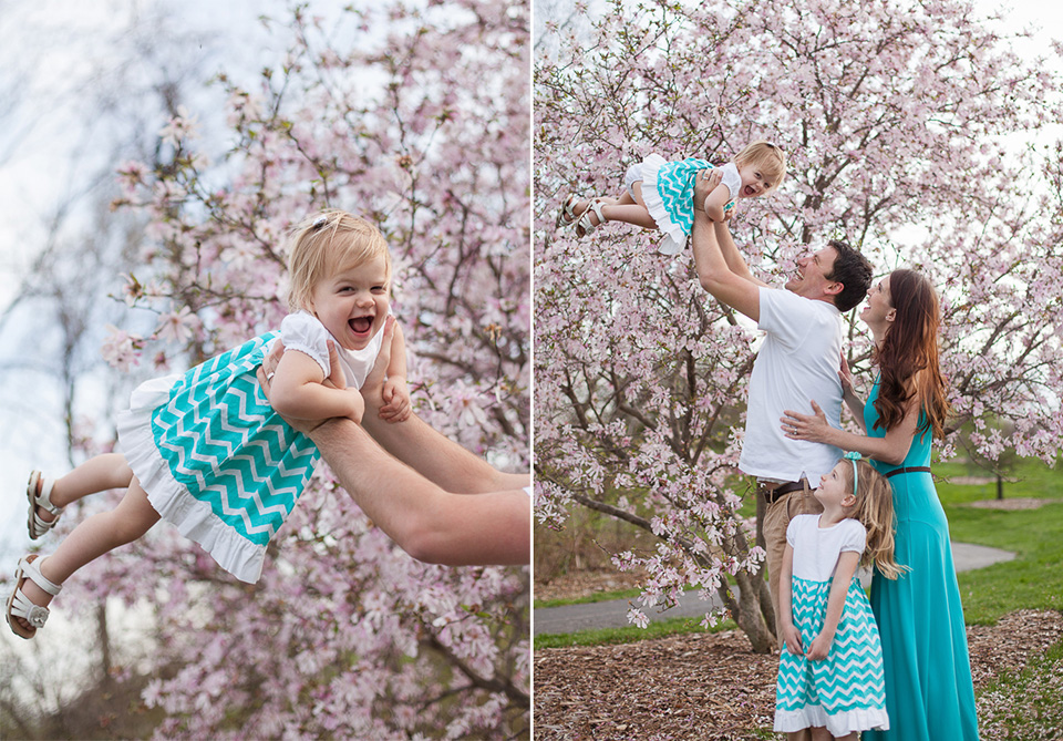 cincinnati family photographer spring pictures
