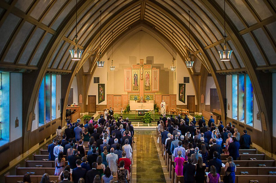 St Clare church wedding venue in Cincinnati OH
