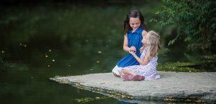 Sisters portrait, Cincinnati family photographer