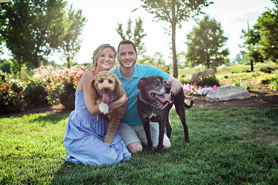 dog and family portraits in Cincinnati