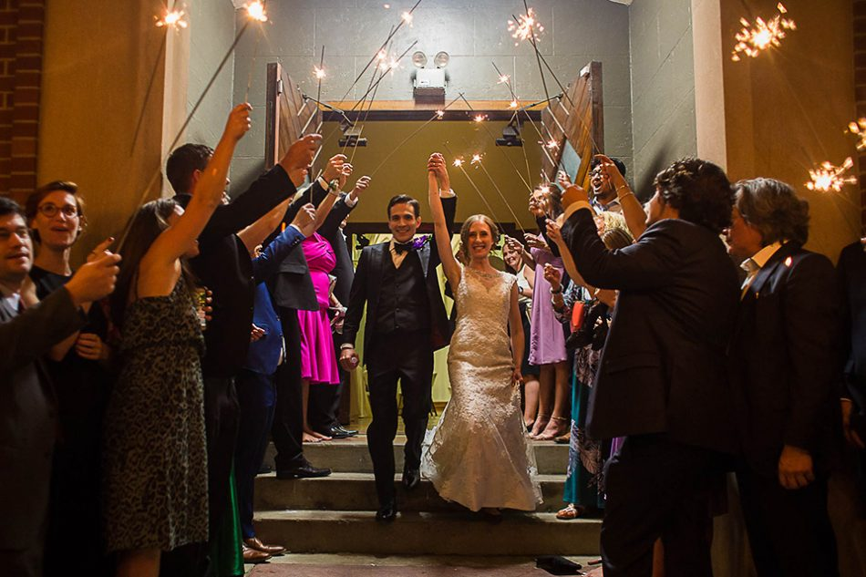 Venue that allows sparkler exit in Cincinnati