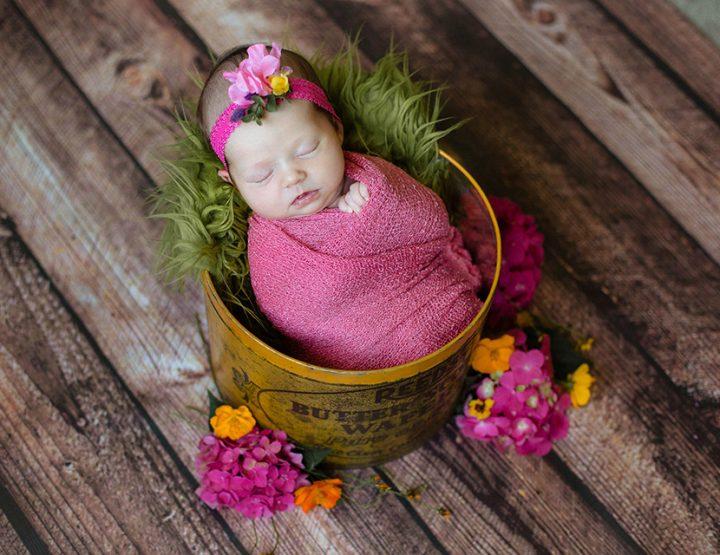 The Grandest Gift, Cincinnati Newborn Photographer
