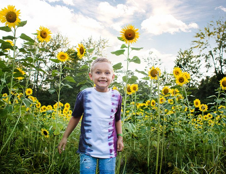 Fun + Sun(flowers) - Cincinnati Children's Photographer