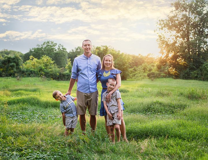Sunset Silliness, Cincinnati Family Photographer